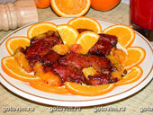 Мясо с апельсинами