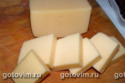 Сыр, жаренный во фритюре, Шаг 02