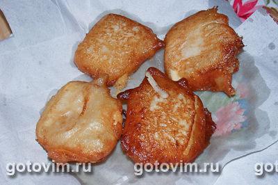 Сыр, жаренный во фритюре, Шаг 04