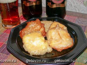 Сыр, жаренный во фритюре
