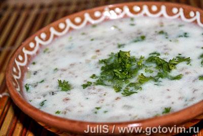 Суп из мацуна Спас (танов апур). Фото-рецепт