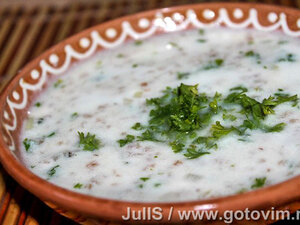 Суп из мацуна Спас (танов апур)