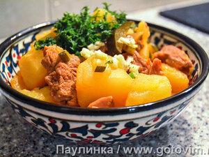 Татарское азу из баранины