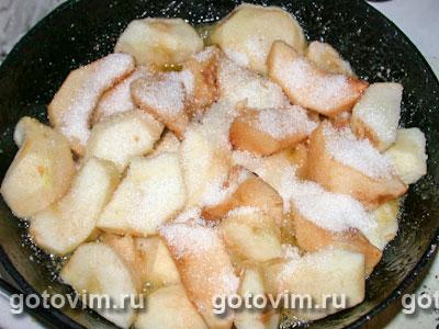 Яблочный пирог Татен, Шаг 01