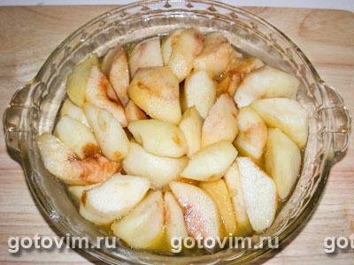 Яблочный пирог Татен, Шаг 02