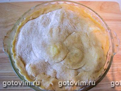 Яблочный пирог Татен, Шаг 03