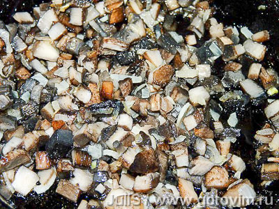 Тельное из рыбы с грибами, Шаг 02