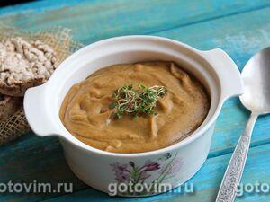 Постный тыквенно-чечевичный суп