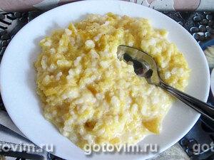 Тыквенная молочная каша с рисом
