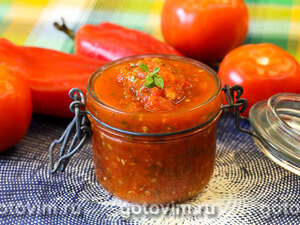 Томатный соус сацебели (на зиму)