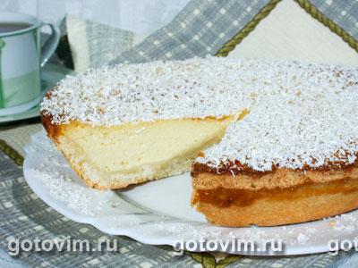 Пирог с белым шоколадом. Фотография рецепта