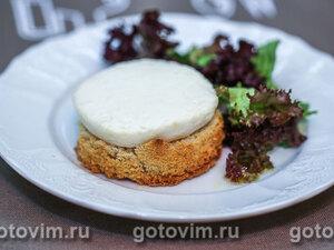 Горячие тосты с козьим сыром