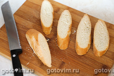 Горячие бутерброды  с картофельным пюре и укропом, Шаг 03