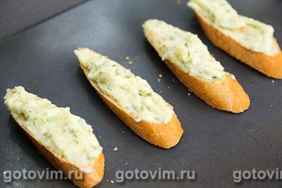 Горячие бутерброды  с картофельным пюре и укропом, Шаг 06