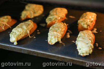 Горячие бутерброды  с картофельным пюре и укропом, Шаг 07