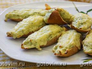 Горячие бутерброды  с картофельным пюре и укропом