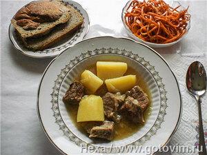 Мясо, тушеное с картофелем (Третий ингредиент О. Генри)