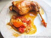Тушеный кролик в вине по-болгарски
