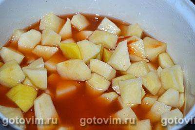 Тушеный картофель с капустой, курицей и грибами, Шаг 01