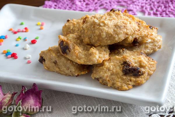 Творожно банановое печенье рецепт