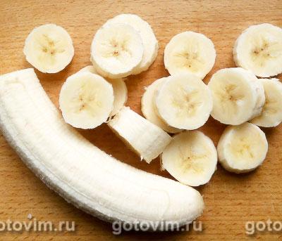 Макаронная запеканка с творогом и бананами, Шаг 04