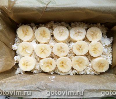 Макаронная запеканка с творогом и бананами, Шаг 05
