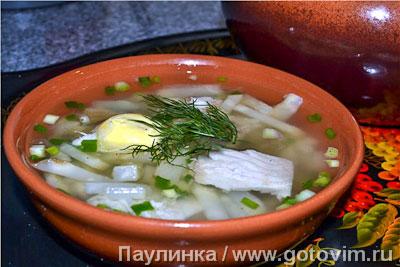 рыбный суп с пшеном и лососем рецепт