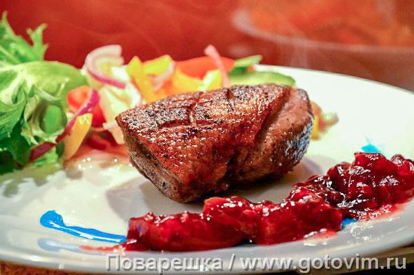 как приготовить вишневый соус для утки