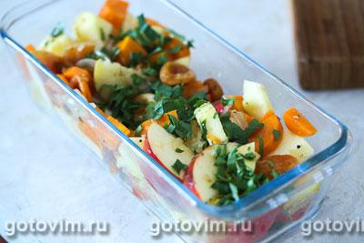 Рецепт приготовления картофеля с шампиньонами