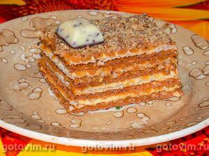 Вафельный торт без выпечки