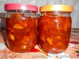 Варенье из абрикосов дольками со сливочным маслом