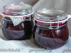 «Живое» варенье из черной смородины (без варки)
