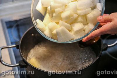 Варенье из дыни с имбирем, Шаг 04