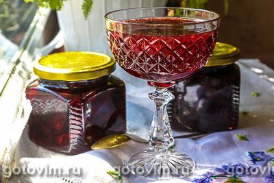 Фотография рецепта Вишнёвое варенье без косточек с пектином