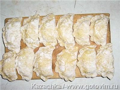 Вареники с картошкой, Шаг 03