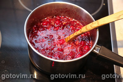 Варенье из кизила с апельсином (без косточек), Шаг 03