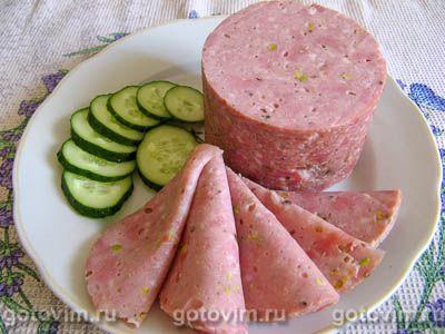 Домашняя ветчина из свинины с говядиной и фисташками