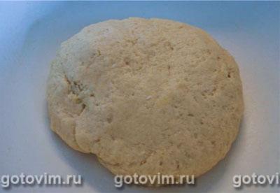 Вишнёвый пирог c крошкой (творожное тесто) , Шаг 03