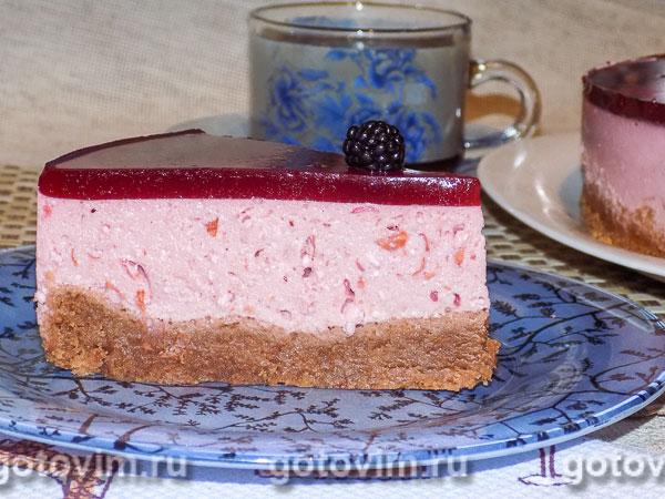 Торт «Вишнёвое суфле». Фотография рецепта