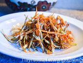 Восточный салат из капусты