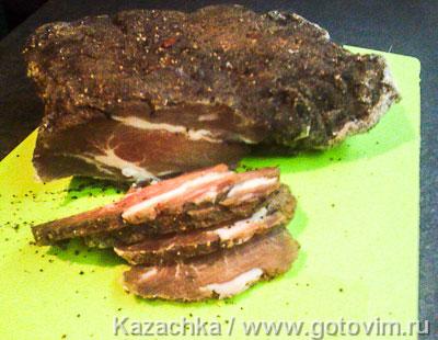 Фотография рецепта Вяленое мясо
