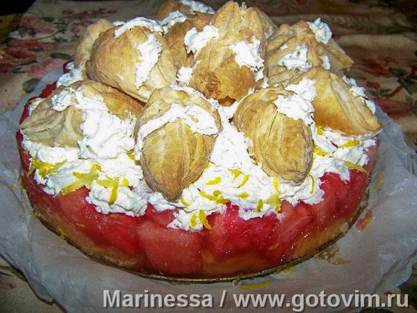 Десерт «Винный арбуз». Фотография рецепта