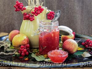 Яблочно-калиновый джем