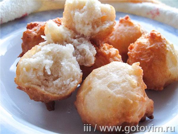 яблочные пончики рецепт
