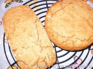 Ячменно-овсяный хлеб