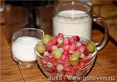 Фотографии рецепта Быстрый ягодный сорбет, Шаг 01
