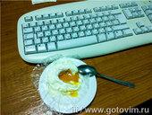 Яйцо всмятку в микроволновке