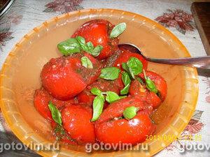 Закуска из помидоров с зеленью