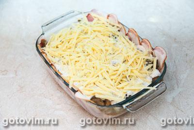 белые грибы с луком рецепт с фото