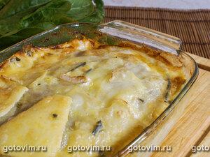 Картофельная запеканка с камбозолой